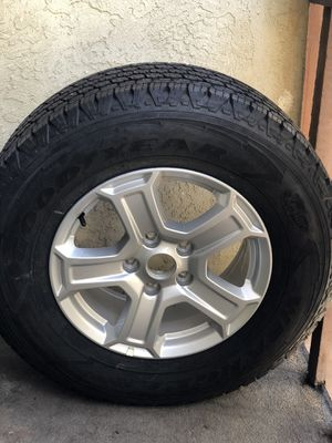 ( 1 ) GOOD YEAR TIRE and Rim Included 100% percent Threading $99 for Sale in San Diego, CA