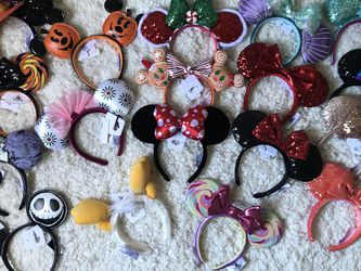 Disneyland Parks Minnie Mouse Ears $20 EACH for Sale in Los Angeles,  CA