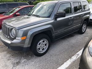 2015 Jeep Patriot clean title, clean report for Sale in Margate, FL