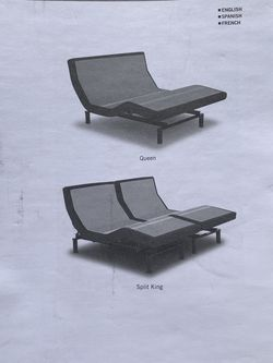 Leggett & Platt Prodigy 2.0 Split King Adjustable Bed Frame for Sale in Oakland,  CA