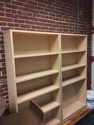 Maple bookshelves - 5 tier for Sale in Manchester, NH