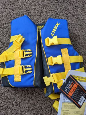 DBX Vector Child's Life Vest, brand new, 30-50 lbs for Sale in Chula Vista, CA