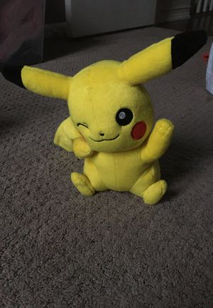 Pikachu Plushie for Sale in Summerville, SC