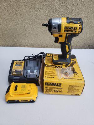 Dewalt 20v XR brushless impact wrench kit for Sale in Anaheim, CA