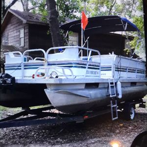 1996 Pontoon Boat for Sale in Houston, TX