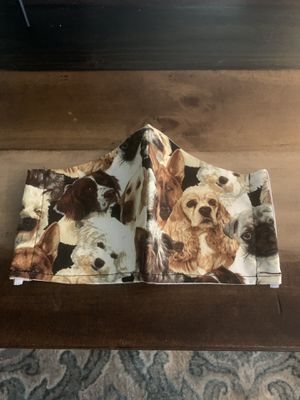 Face covering dogs puppies cute comfortable safe for Sale in Spring Hill, FL
