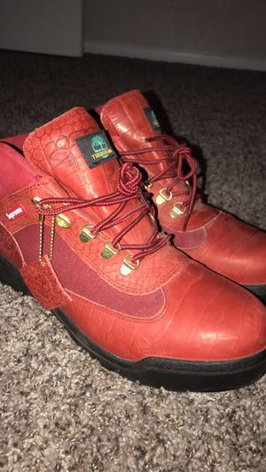 Supreme x timberland boots for Sale in Chandler, AZ