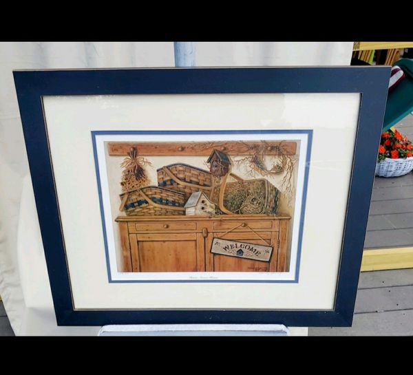 Longaberger Nancy Young Signed Print