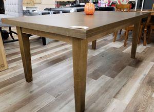 NEW Better Homes Full Size Dining Table: Walnut Finish w/ Corner Defect for Sale in Burlington, NJ
