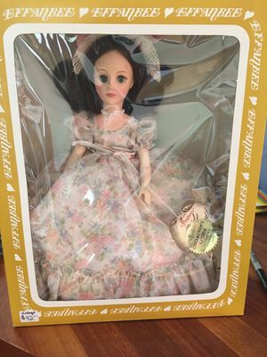 Effanbee vintage collectors choice doll. #3339 never out of box. Doll has name Dallas and is from 1983. for Sale in Traverse City, MI