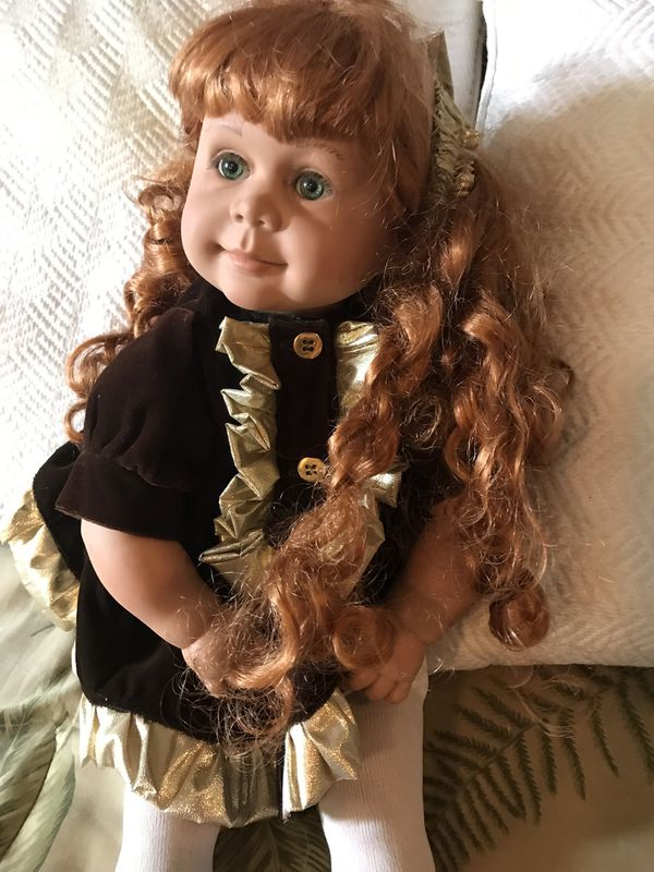 "Collectible Pat Secrist's big girl ""Evie"". 1991 VFM 24 inch Doll"