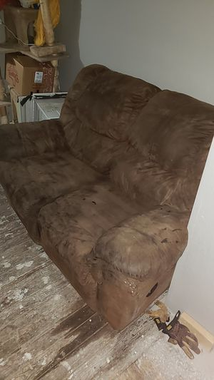 Suade sofa for Sale in San Angelo, TX
