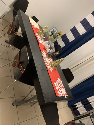 Six Chair Dinning Table from Ikea for Sale in Kissimmee, FL