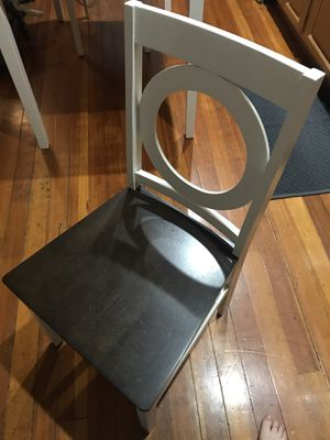 NEW! Single Two-Tone Wood Side Chair for Sale in Boston, MA