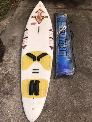 Wind Board Surfboard - HiFly w/ Tushingham Sail for Sale in The Woodlands, TX