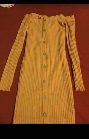Yellow dress for sell ASAP for Sale in The Bronx, NY