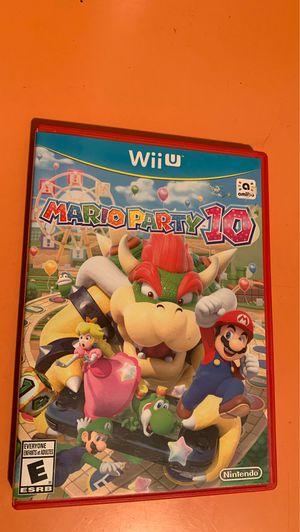 Nintendo WiiU Mario Party 10 for Sale in Portland, OR