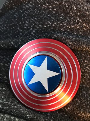 Captain America fidget spinner for Sale in Vallejo, CA