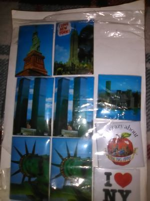 Vintage rare puffy stickers twin towers for Sale in Philadelphia, PA