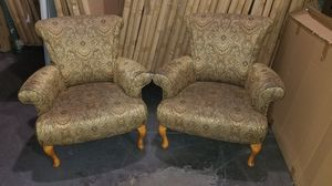 Nice Wing back sofa chairs - NOT FREE for Sale in Huntington Beach, CA
