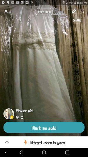Flower girl dress for Sale in McDonough, GA