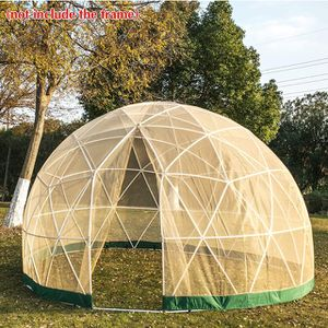 BRAND NEW Garden Dome Mesh Cover 12ft - Geodesic Dome Mesh Cover Summer Ultra-fine - Bubble Tent Mesh Cover with Door and Windows for Sunbubble, Back for Sale in Irwindale, CA