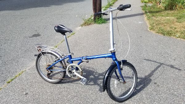 Dahon Mariner folded bike 20