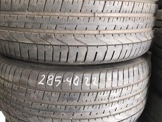 Tires 255/40/22....285/40/22.....305/30/21 for Sale in Santa Ana,  CA