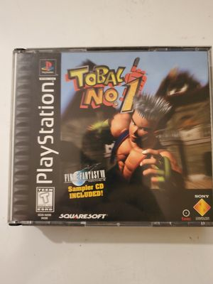 Playstation 1. Tobal no.1 for Sale in Goldfield, IA