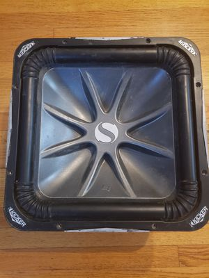 "One 15"" Kicker l7 solo baric subwoofer for Sale in Chicago, IL"