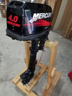 4hp mercury outboard boat motor for Sale in Orlando, FL