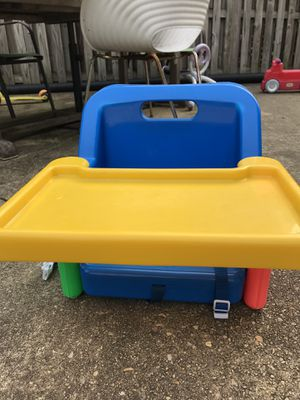 Booster seat with tray for Sale in Silver Spring, MD