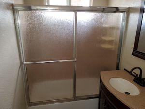 Sliding Glass Shower Doors and Frame for Sale in Encinitas, CA