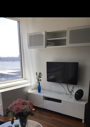 Bestå storage system / tv stand (bottom and top) for Sale in New York, NY