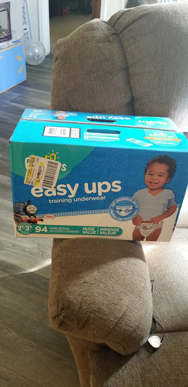 Diapers/Easy ups