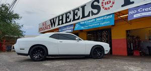 "22"" hellcat rims and tires all mat black for Sale in Oakland Park, FL"