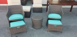 Brand new wicker chat set for Sale in Morrisville, NC