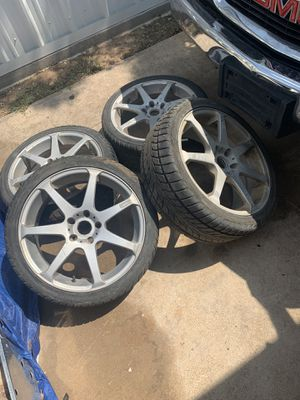 Universal 18in mags wheels for Sale in San Angelo, TX
