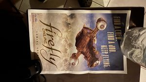 Firefly comic con poster for Sale in Rosemead, CA
