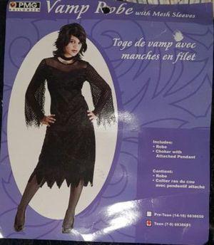 Vampire Vampiress Robe, Halloween Costume, Size Teen or XS Female Women for Sale in Largo, FL