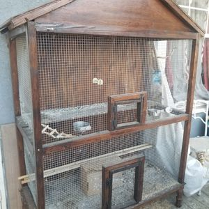$50 Hand made 6foot bird cage $50 for Sale in Compton, CA