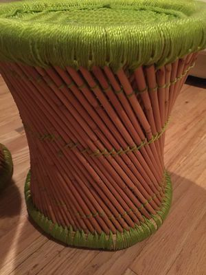 CB2 BAMBOO STOOLS for Sale for sale  Brooklyn, NY
