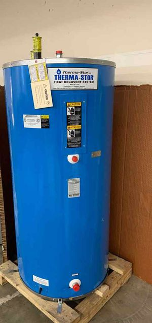 114 gallon THERMA-STOR WATER HEATER WITH WARRANTY O for Sale in Fort Worth, TX