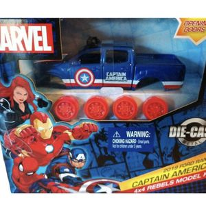 Marvel Captain America 2019 Ford Ranger 4x4 Rebels Model Kit for Sale in Hollywood, FL
