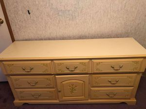 Yellow dresser for Sale in Rustburg, VA