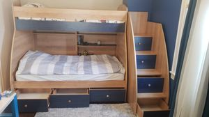 Twin over twin Bunk Bed for Sale in Queens, NY