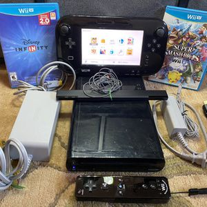 NINTENDO Wii U Bundle for Sale in Pleasanton, CA