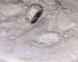 Diamond Ring Real Diamond 18k White Gold for Sale in Houston,  TX