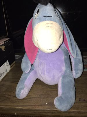 Eeyore from Winnie the pooh plush toy for Sale in Arlington Heights, IL