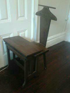 SOLID WOOD SCHOOL CHAIR & DESK FOLD UP TOP VINTAGE ANTIQUE for Sale in Coronado, CA